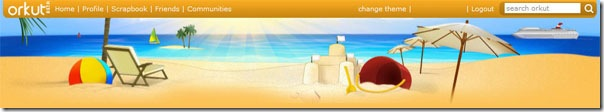 Orkut-Beach-Theme