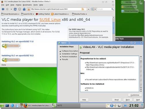 SuSE11-VLC-1Click
