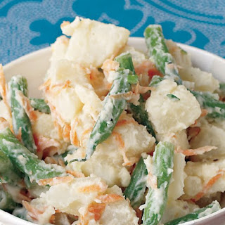 Warm Potato-Veggie Salad