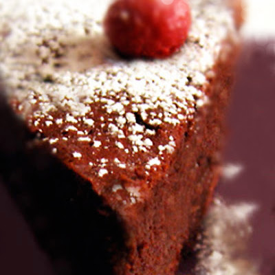 Gluten-Free Dark Chocolate Goddess Cake
