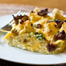 Cheese and Sausage Breakfast Casserole