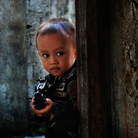 Little Army II by Arjanmar Rebeta - Babies & Children Child Portraits (  )