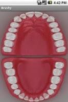 Screenshot of Brushy - Teeth brushing timer