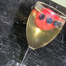 Berries in Champagne Jelly