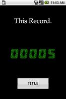 Screenshot of 限界に挑戦!数字記憶(KaZ)