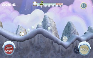 Screenshot of Angry Yeti