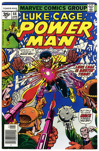Luke Cage Powerman comic book cover