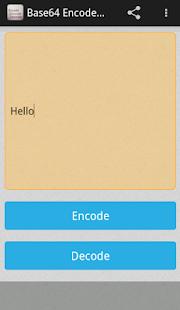 app base64 encoder decoder apk for windows phone android