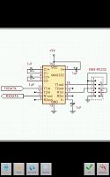 Screenshot of palmDraft(lite) ElectronicsCAD
