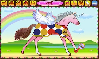 Screenshot of Horse Dressup