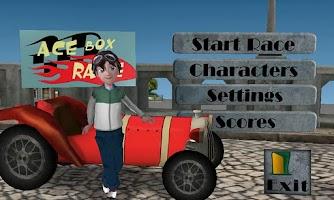 Screenshot of Ace Box Race