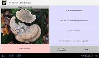 Screenshot of Meine Pilze (Pilzbestimmung)