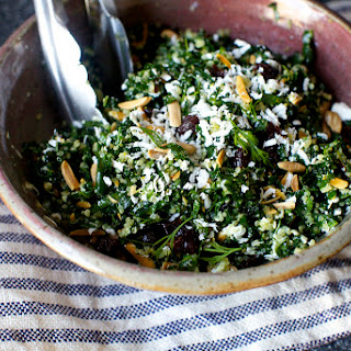 Kale and Quinoa Salad with Ricotta Salata