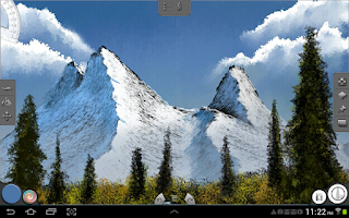 Screenshot of Infinite Painter (Galaxy Note)