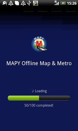 モスクワオフラインマップ