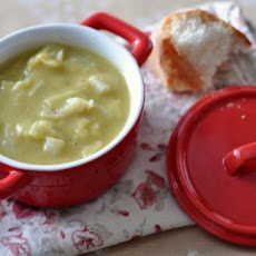 Cabbage Pea Soup