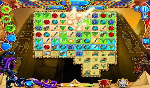Legend of Egypt Match 3 (germ) - screenshot