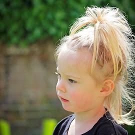 Summer Sun by Kelly Murdoch - Babies & Children Children Candids ( child, girl, ztam photography, female, toddler, hair, sun, ztam )