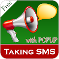 Download Talking SMS Popup - SMS Talker APK on PC