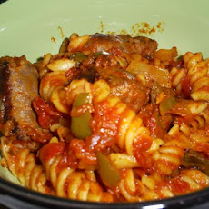 Robust Italian Sausage & Pasta (Crock Pot)