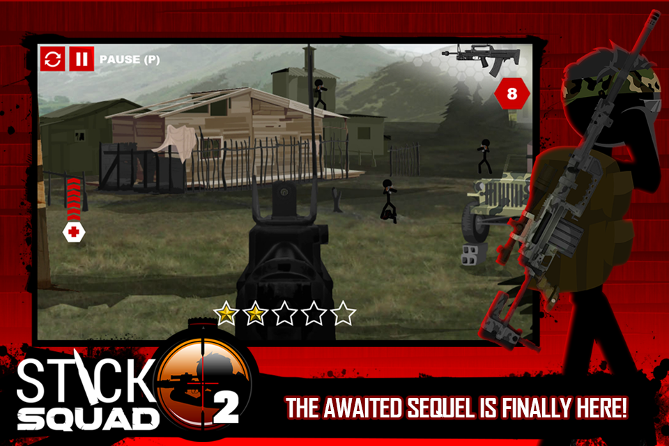 Stick Squad 2 - Shooting Elite Screenshot 0