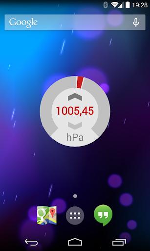 Barometer - screenshot