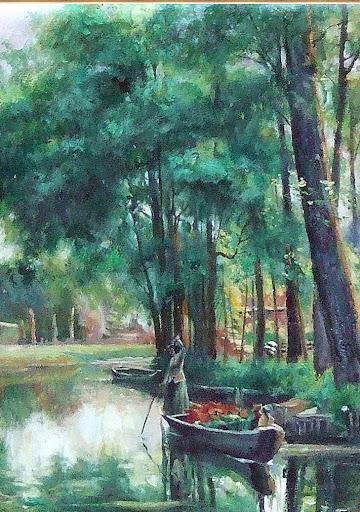 世界经典风景油画系列 赶集 俄罗斯名画