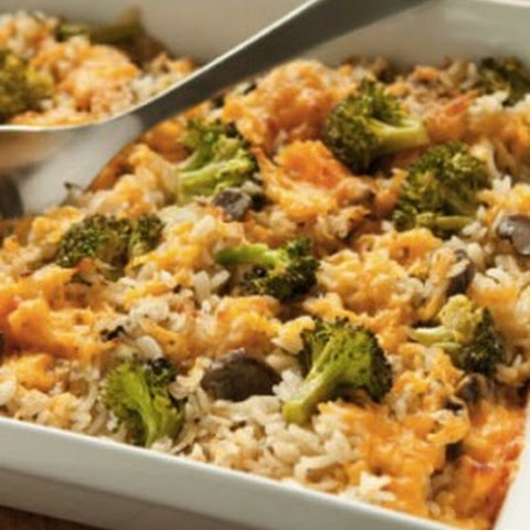 Chicken Broccoli and Rice Casserole