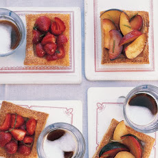 Honeyed Fruit Tartlets