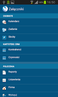 Standard CRM 7.2 POL - screenshot