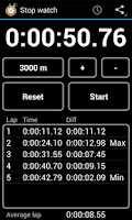 Screenshot of Simple Stop Watch & Timer