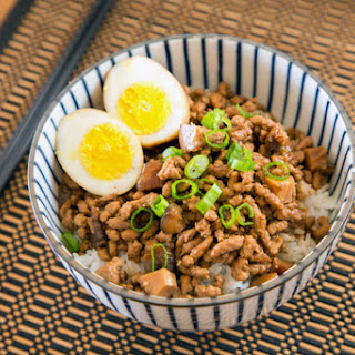 Taiwanese Minced Pork Rice (Adapted from Serious Eats & Taiwan Duck)