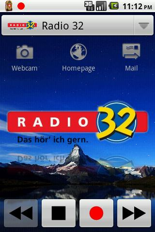 radiorec for android screenshot