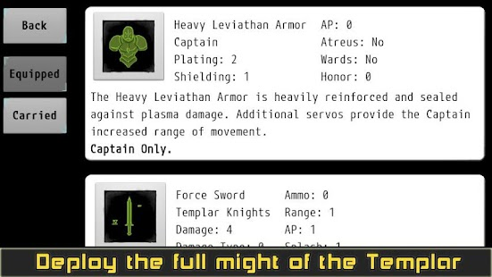 Templar Assault RPG