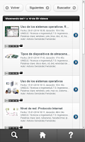 Screenshot of Reproductor de recursos AVIP