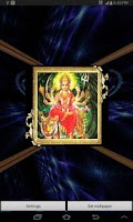 Screenshot of 3D Maa Durga Live Wallpaper