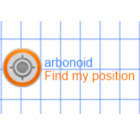 Find my position and Qibla icon
