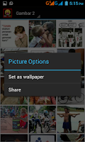 Screenshot of Gambar Lucu Tergokil
