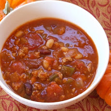 Turkey- Pumpkin Chili