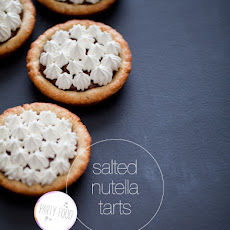 Salted Nutella Tarts