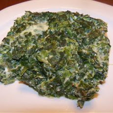 Easy Spinach Souffle