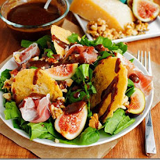 Fig & Frico Prosciutto Salad