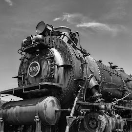 Number 520 by Robert Peterson - Transportation Trains ( strasburg, locomotive, railroad, train, steam, land, device, transportation )