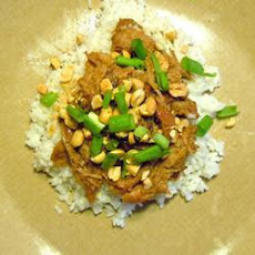 Peanut Pork with Rice