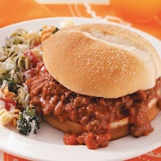 Easy Salsa Sloppy Joes