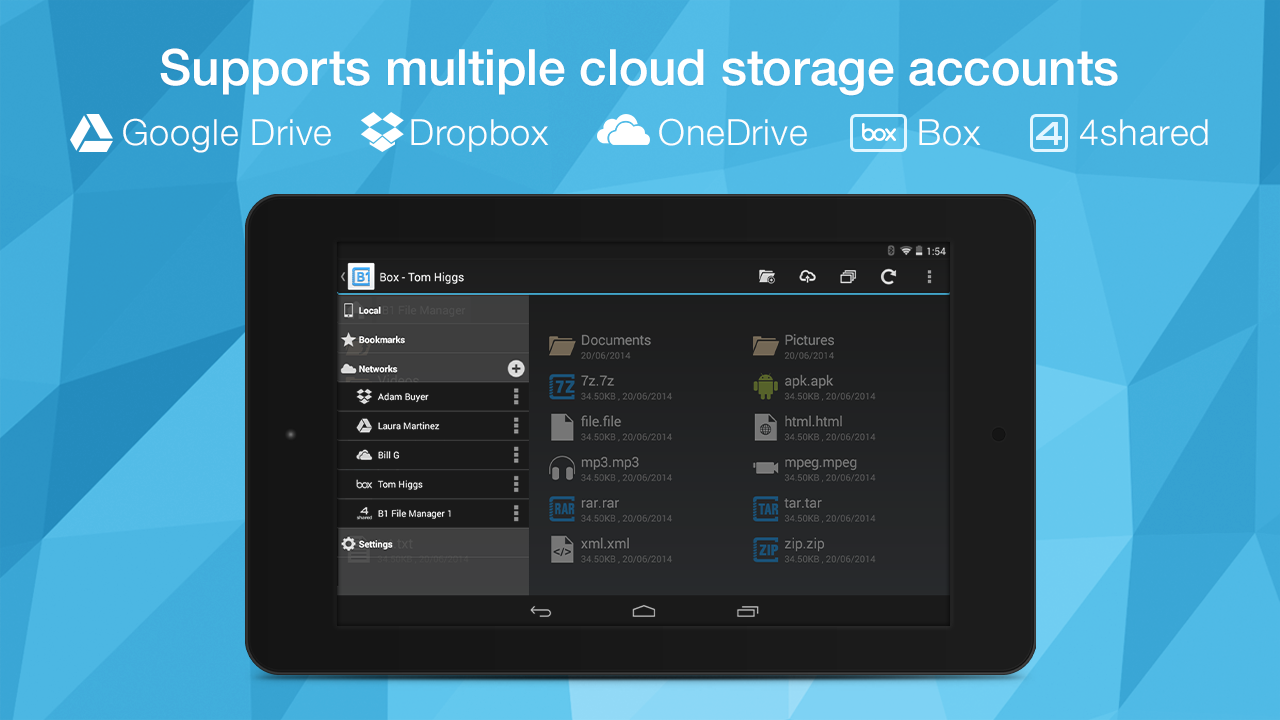 B1 File Manager and Archiver Screenshot 3
