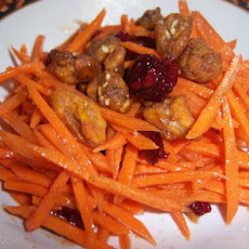 Carrot Salad With Cinnamon,lemon and Honey