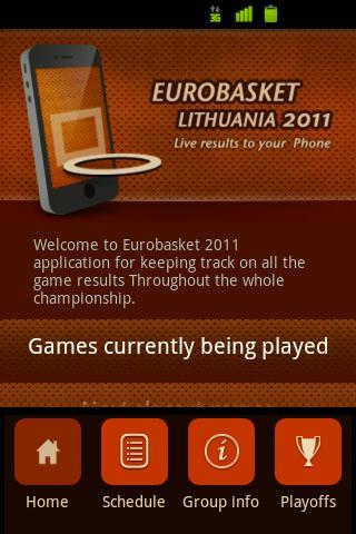 Eurobasket 2011 Live Results