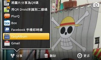 Screenshot of EasyAlbum
