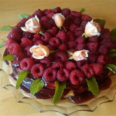 Royal Raspberry Cheesecake